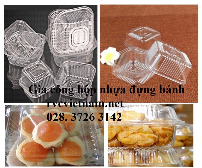hộp nhựa đựng bánh